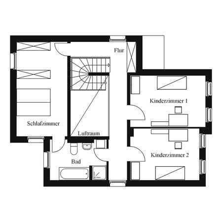 projekte im detail atriumhaus i. Black Bedroom Furniture Sets. Home Design Ideas