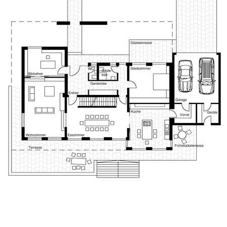 projekte im detail gro es atriumhaus. Black Bedroom Furniture Sets. Home Design Ideas
