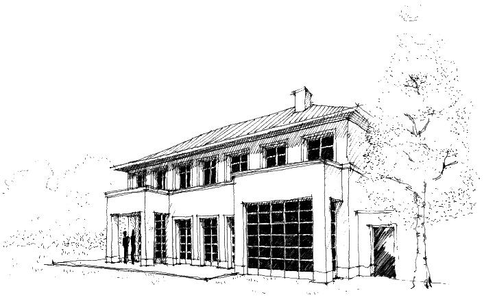 projekte im detail eine villa am schlachtensee. Black Bedroom Furniture Sets. Home Design Ideas